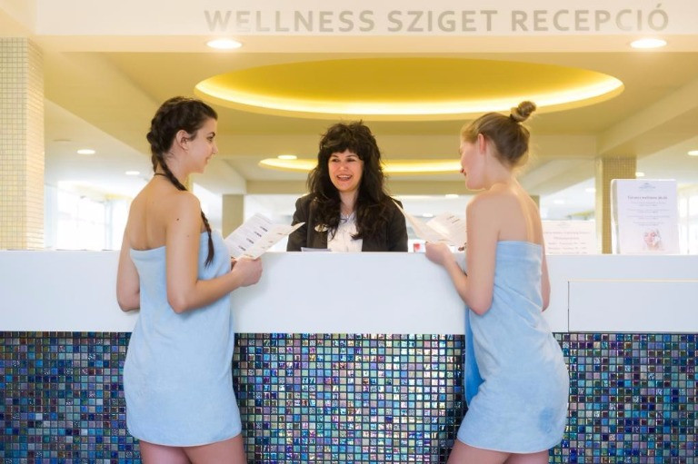 Aquaticum Thermalbad Wellness-Insel